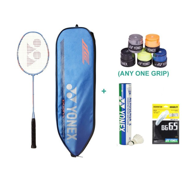Yonex Duora 77 Badminton Racket Set with...