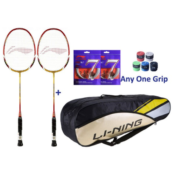 Li Ning Smash XP 90-II Badminton Two Pla...