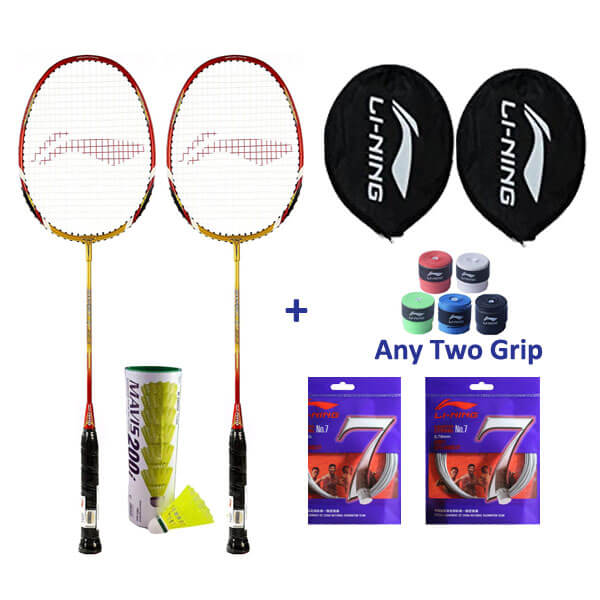 Li Ning Smash XP 90-II Two Player Badmin...