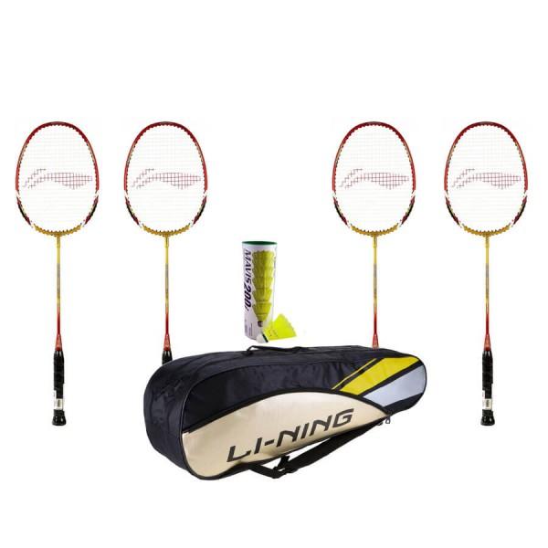 Li Ning Smash XP 90-II Racket Doubles Pl...