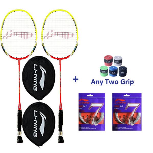 Li Ning Smash XP 80-II Badminton Combo D...
