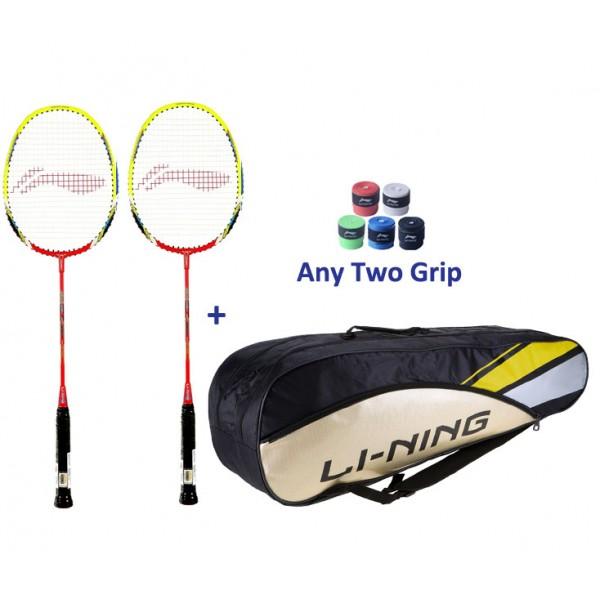 Li Ning Smash XP 80-II Badminton Racket Set