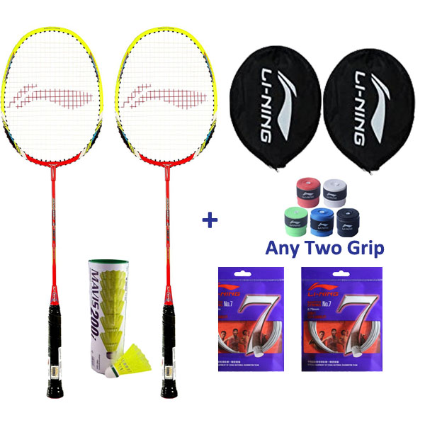 Li Ning Smash XP 80-II Two Player Badmin...