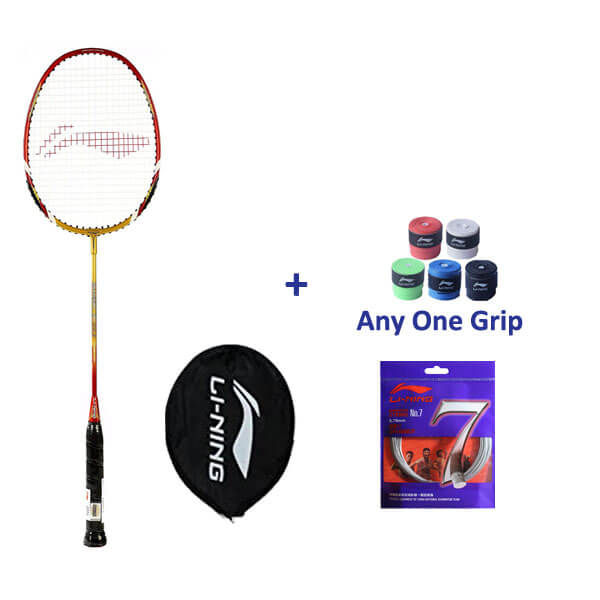 Li Ning Smash XP 90-II Badminton Set for...