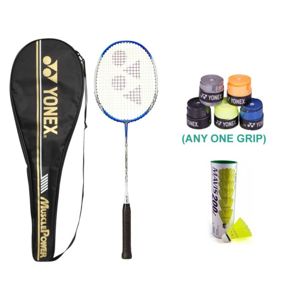 Yonex Muscle Power 2 Badminton Racket Combo