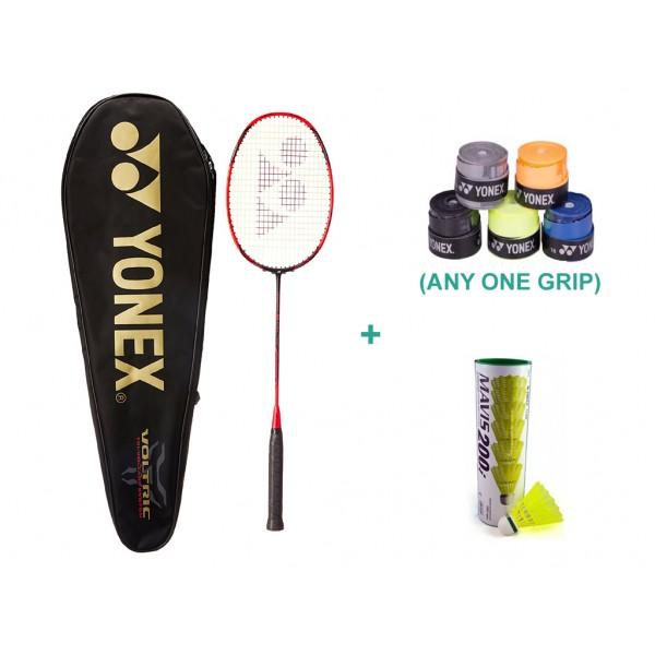 Yonex Voltric 10 DG With Yonex Badminton...