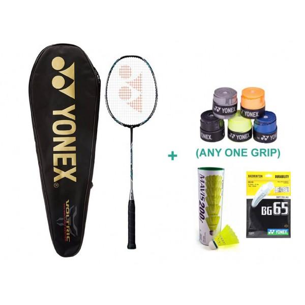 Yonex Voltric 5 Set with Badminton Grip ...