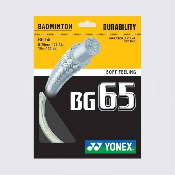 Yonex Titanium BG 65 Badminton Strings, ...