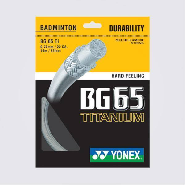 Yonex BG65 Titanium Badminton String
