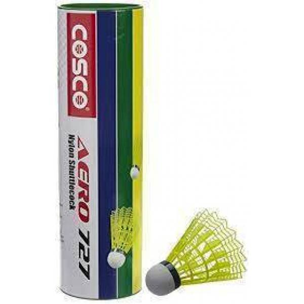 Cosco Aero 727 Shuttlecock (Yellow)