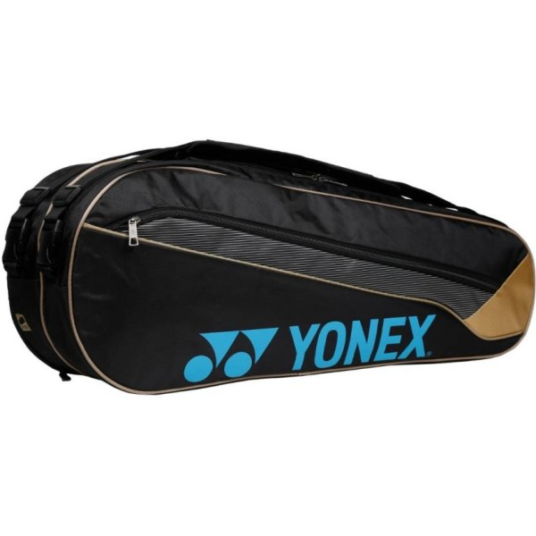 Yonex SUNR WP13 TK BT6 Badminton Kit Bag Black and Gold