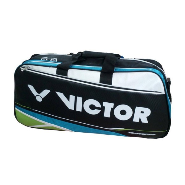 Victor AG510U Badminton Kit Bag Blue and Black