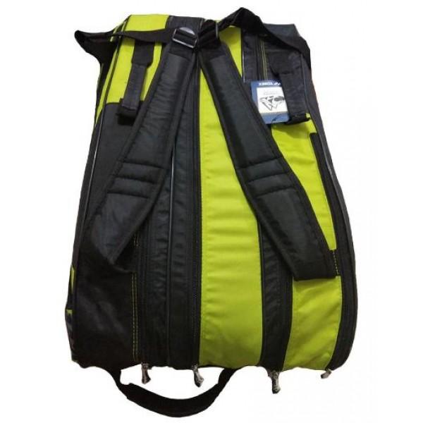 Yonex 8729 Tg Bt9 Sr Badminton Kit Black and Lime Yellow