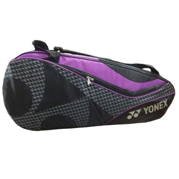 Yonex 8729 Tg Bt9 Sr Badminton Kit Blck and Purple