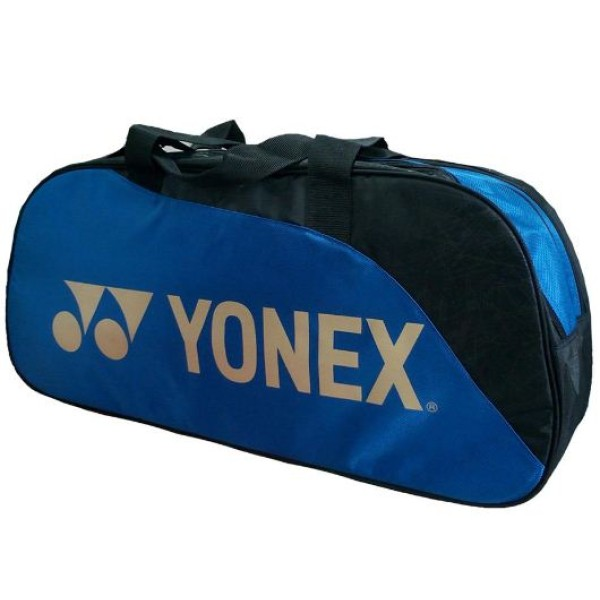 Yonex SUNR 9631 MTK BT6 Badminton Racket kit Bag Blue and Black