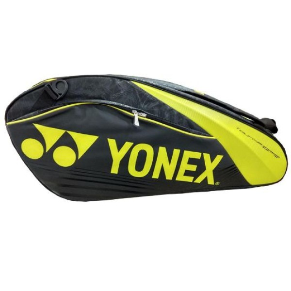 YONEX SUNR 9626 TG BT6 SR Yellow and Black Badminton Kit Bag