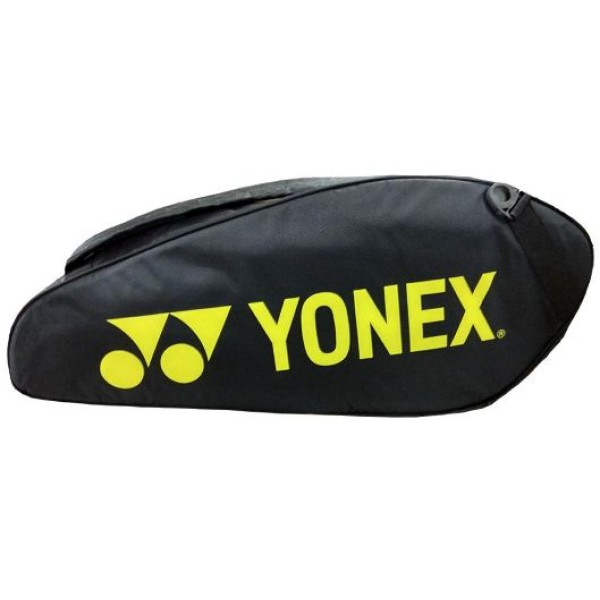 YONEX SUNR 9626 TG BT6 SR Yellow and Black Badminton Kit Bag