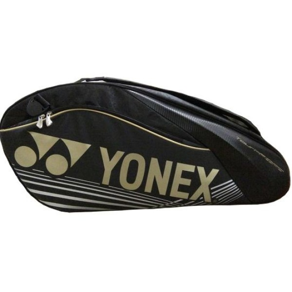 YONEX SUNR 9626 TG BT6 SR Black Badminton Kit Bag