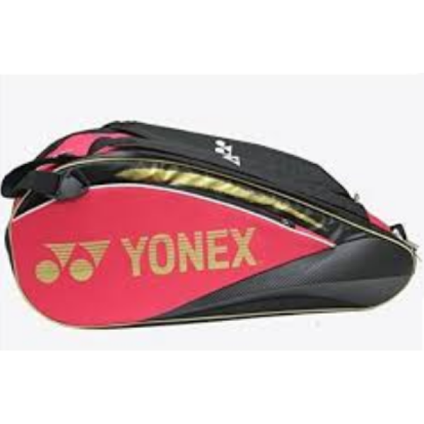 Yonex SUNR WE 01 TG BT 6 SR Badminton Kit Bag Pink