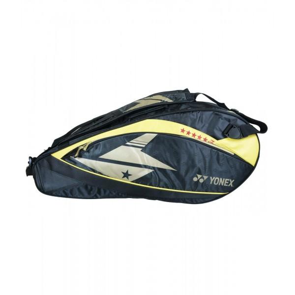 YONEX SUNR 02 LDTG BT6 Yellow Black Badm...