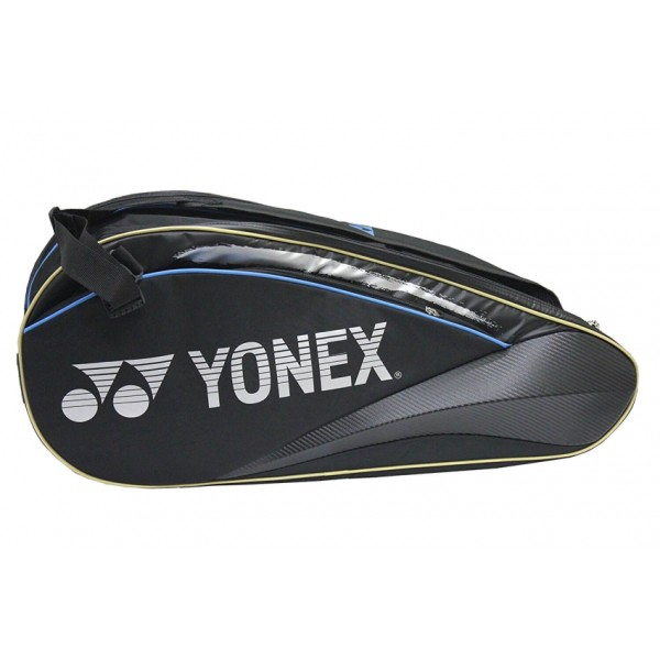 Yonex SUNR WE 01 TG BT 6 SR Badminton Kit Bag Black