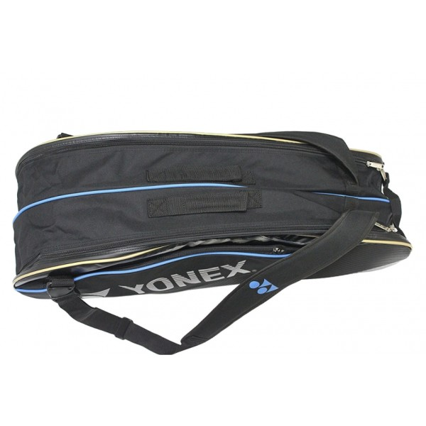 Yonex SUNR WE 01 TG BT 6 SR Badminton Kit Bag Black