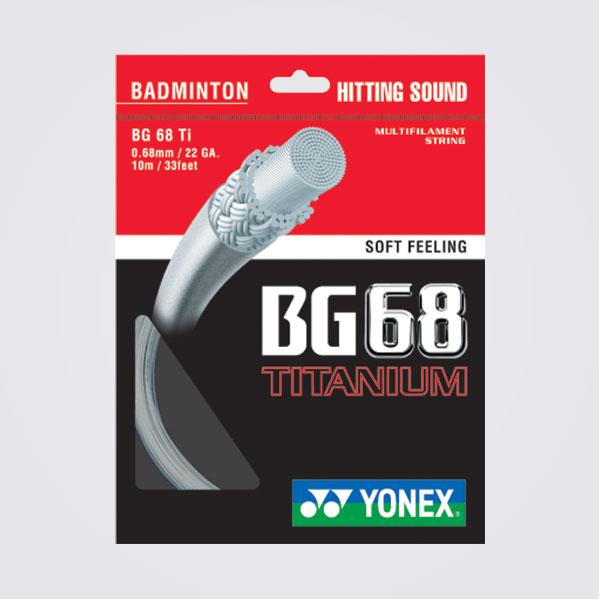 Yonex BG68 Titanium Badminton String