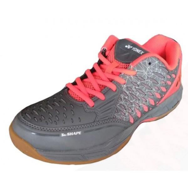 Yonex Court ACE Badminton Shoes Grey Red