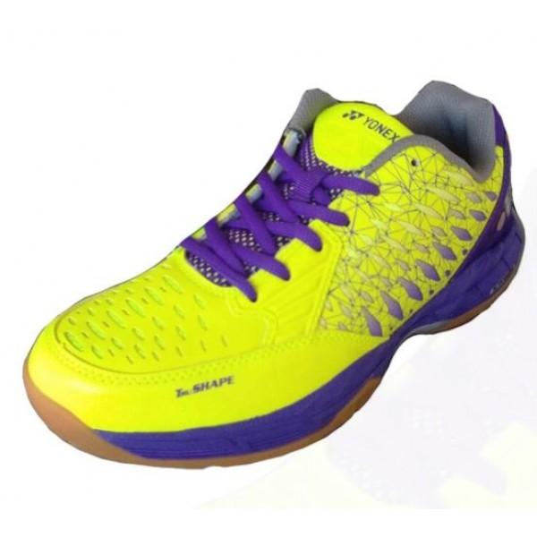 Yonex Court ACE Badminton Shoes Lime Purple