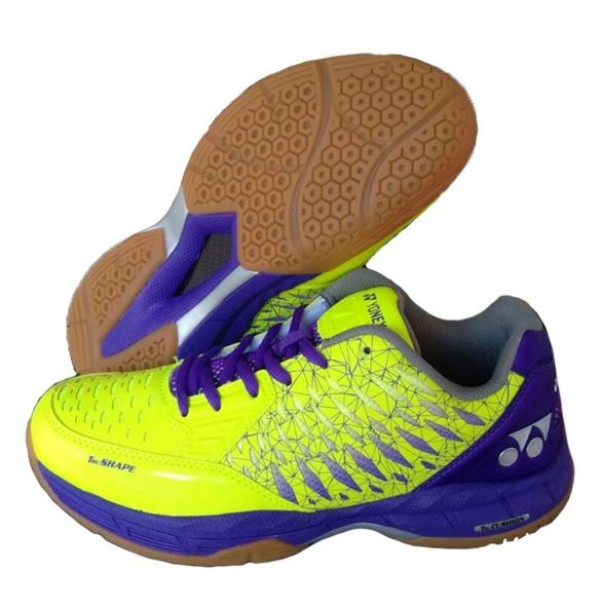 Yonex Court ACE Badminton Shoes Lime Pur...