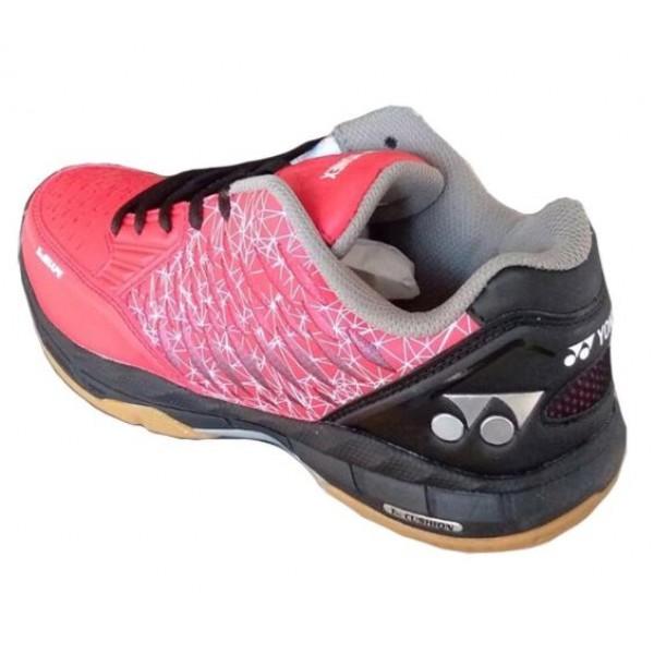 Yonex Court ACE Badminton Shoes Red Black