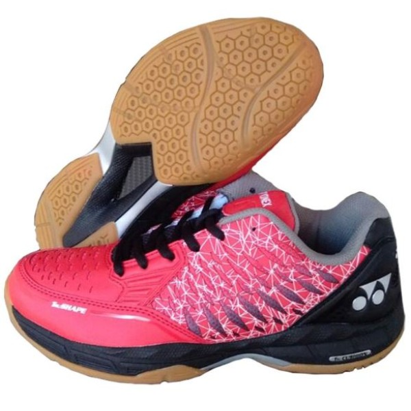 Yonex Court ACE Badminton Shoes Red Blac...