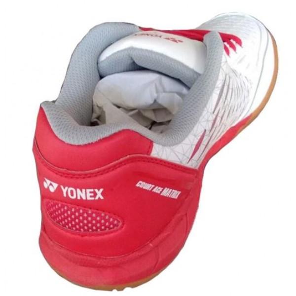 Yonex Court ACE Badminton Shoes White Red