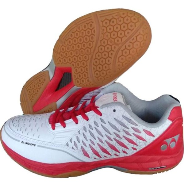 Yonex Court ACE Badminton Shoes White Red