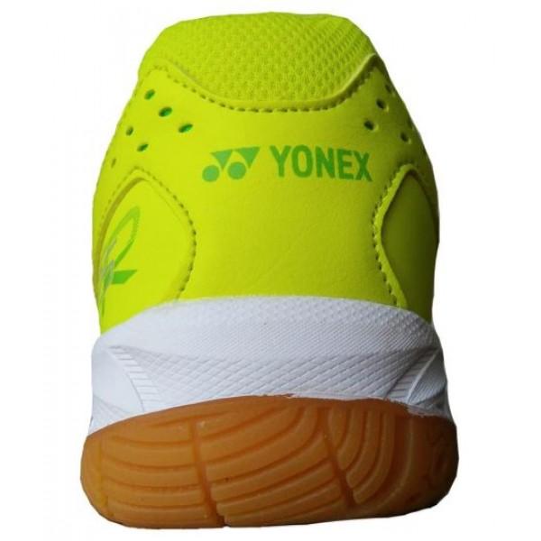 Yonex 65 Wide Badminton Shoes Lime Green