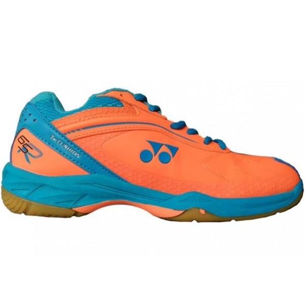 Yonex 65 AW Badminton Shoes Orange Blue