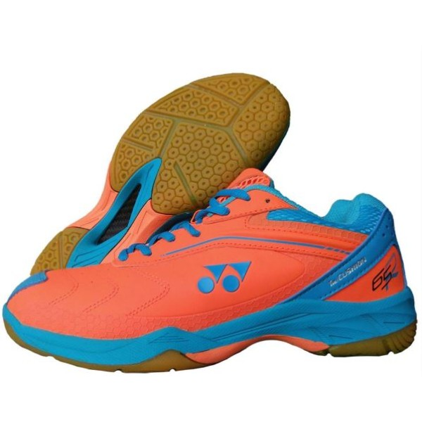 Yonex 65 AW Badminton Shoes Orange Blue