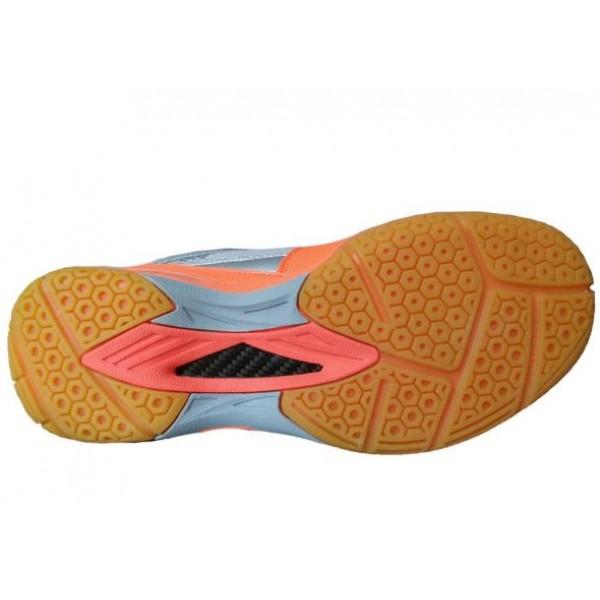 Yonex 65 AW Badminton Shoes Orange Silver