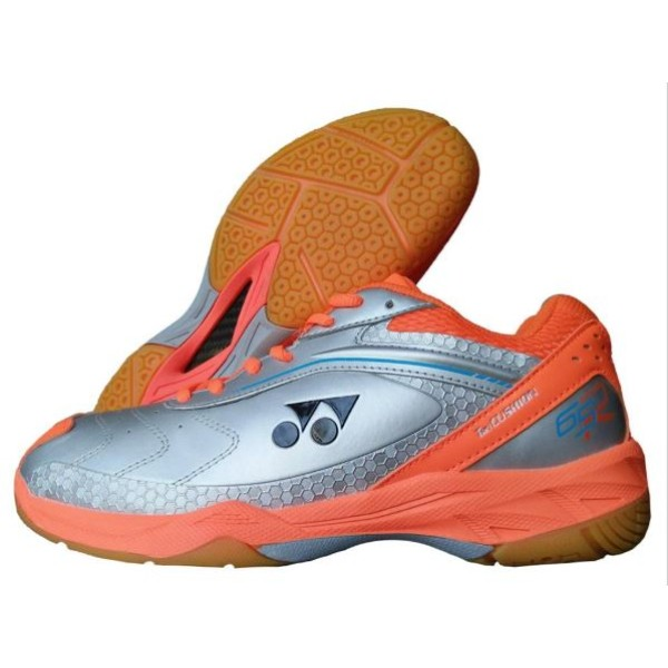Yonex 65 AW Badminton Shoes Orange Silve...