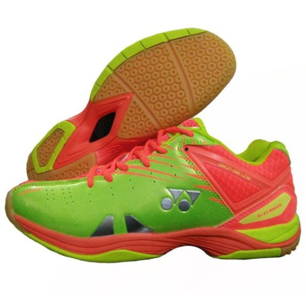 Yonex SRCP 01 R LCW Badminton Shoes Green Orange