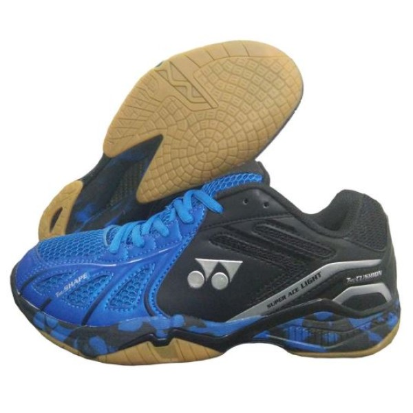 Yonex Super ACE Lite Badminton Shoes Blue Black