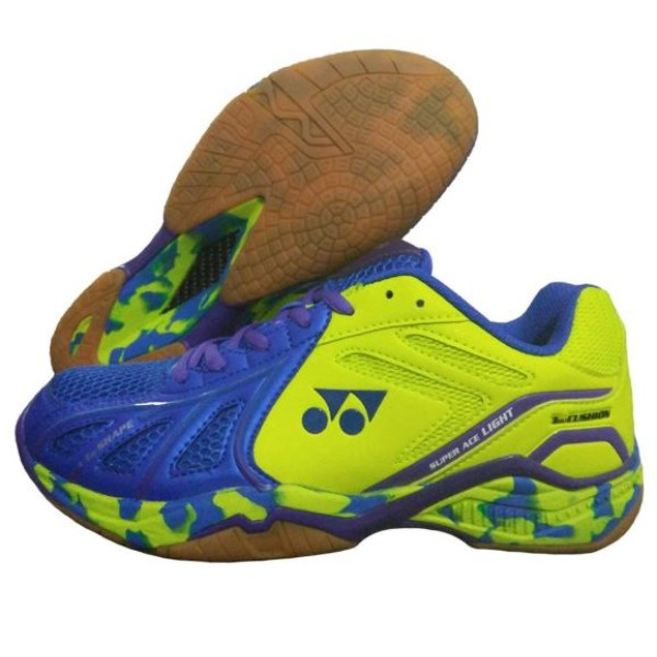 Yonex Super ACE Lite Badminton Shoes Blu...