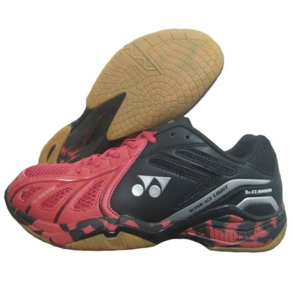 Yonex Super ACE Lite Badminton Shoes Red Black
