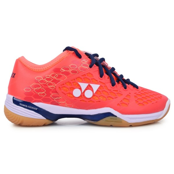 YONEX SHB 03 Z Power Cushion Coral Red Badminton Shoes