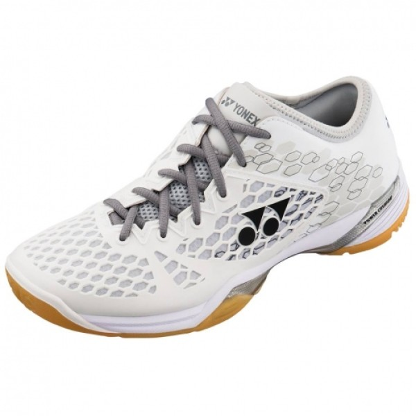 YONEX SHB 03 Z Power Cushion White Badminton Shoes Men