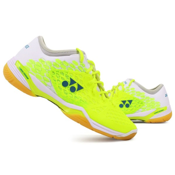 YONEX SHB 03 Z Power Cushion Lime Green Badminton Shoes Women