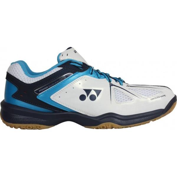 YONEX SHB 35 EX Badminton Shoes White Bl...