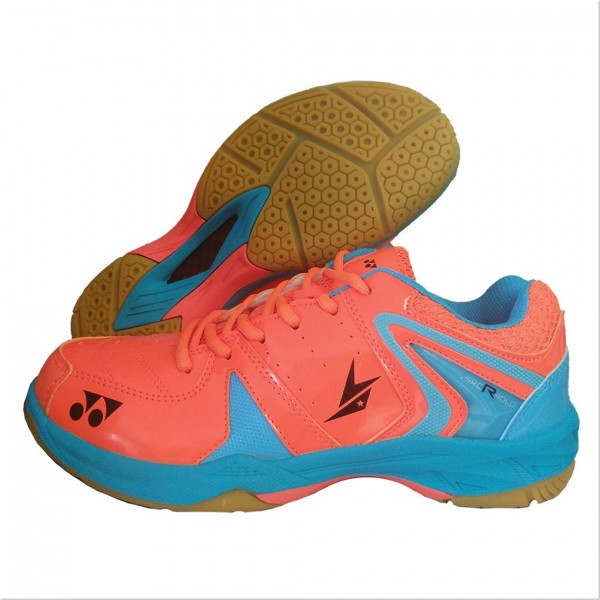 Yonex SRCR 40 LD Badminton Shoes Orange & Blue