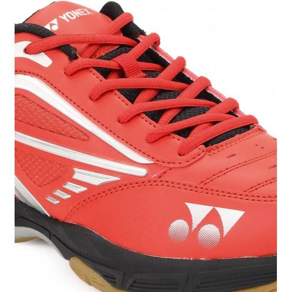 Yonex Court Ace Tough Red Black Badminton Shoes