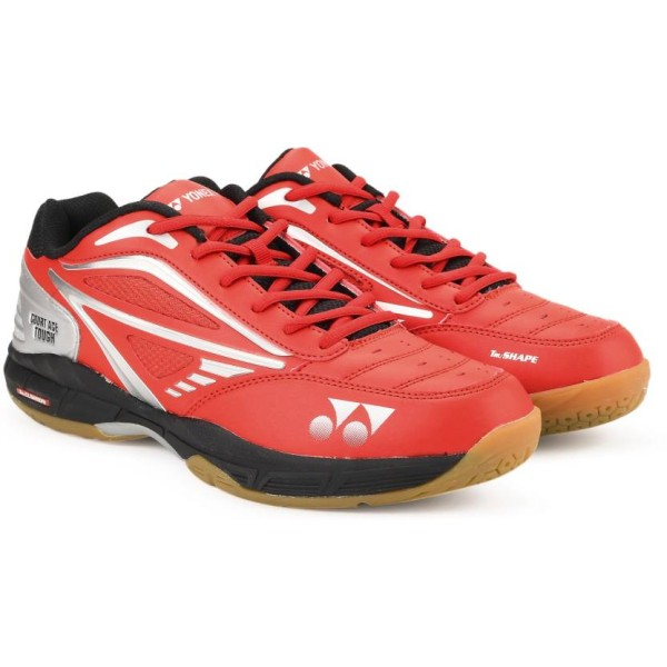 Yonex Court Ace Tough Red Black Badminton Shoes